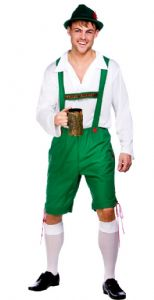 Oktoberfest Guy Costume (EM3199) Inc Shirt & Hat